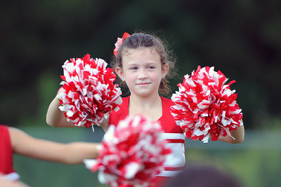 9/8/2012 Gilmer vs. Rabun 8U Cheer