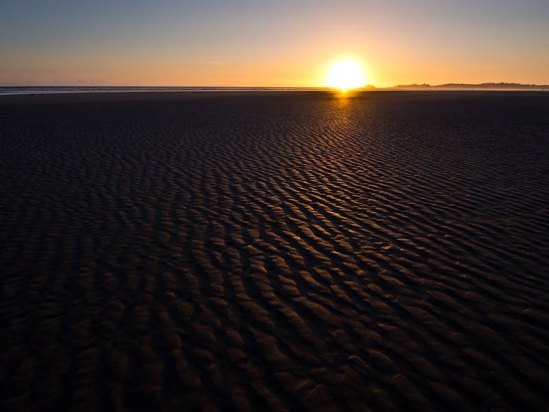 Sunset at Green Point - Long Beach