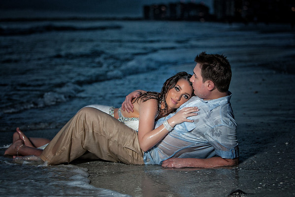 Maria + Michael Trash The Dress