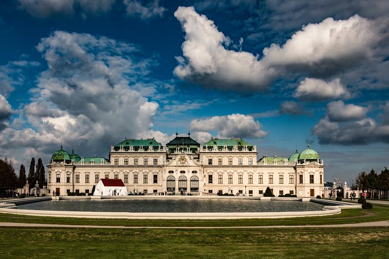 Belvedere Palace, Vienna, Austria