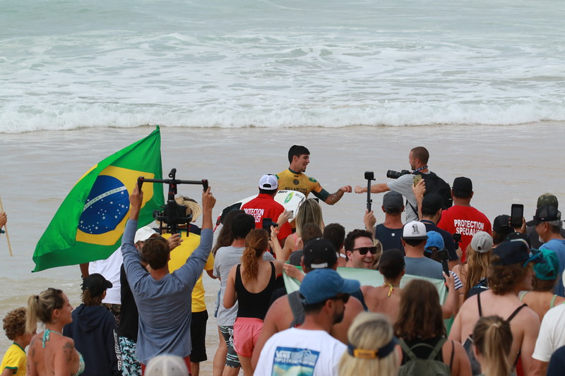 Gabriel Medina, BRA, Pipemaster and World Champion of Surfing 2018