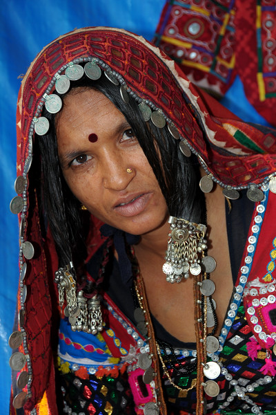 Portrait of Lakshmi Bai from Sandur who is working with Sandur Kushala Kala Kendra since a decade. See more details:  http://www.kushalakalasandur.com/