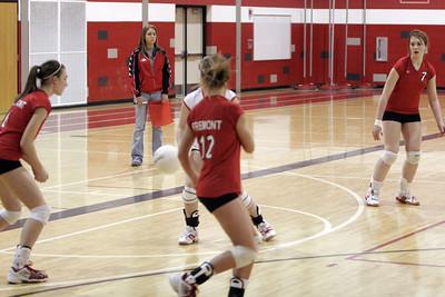 Girls JV Volleyball - 2006-2007 - 2/19/2007 Hart