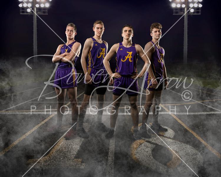 Boys Track Team 2018