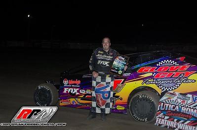 Utica-Rome Speedway - 9/10/17 - Dylan Friebel