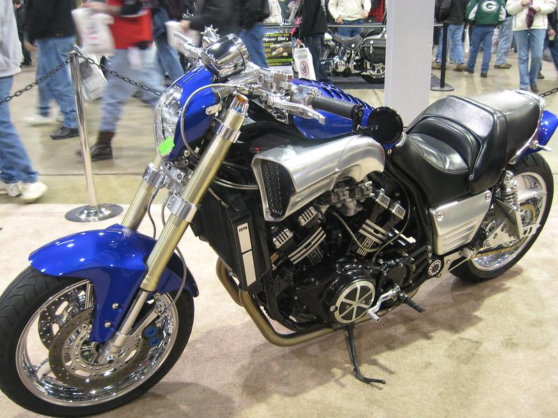 Maximite' Yamaha V-Max custom bike