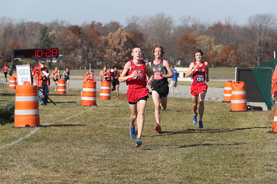 D2 Boys' at 2 Miles Section 1 - 2020 MHSAA LP XC