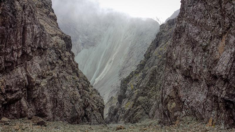 The Great Stone Chute of Sgurr Alasdair