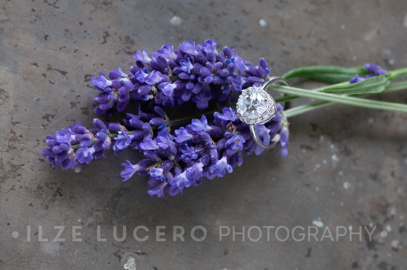 Lavender and ring