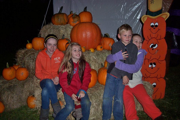 2012...Scary Haunted Hay Ride  BRASHER FALLS