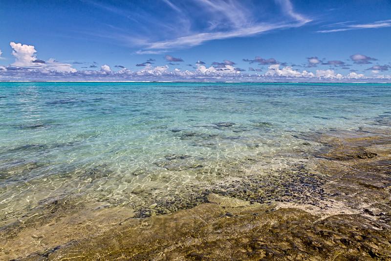 Clear Waters off Tikioki Beach