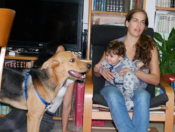 Family pix in Israel