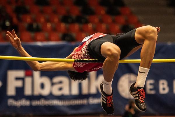 High jump, Men