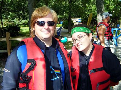 Pocono Whitewater Rafting 2010