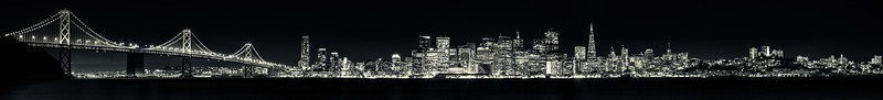 San Francisco Skyline Panorama
