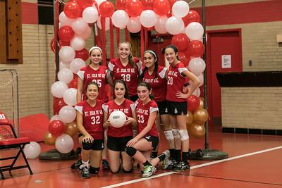 SJA 8th-Grade Girls A Volleyball