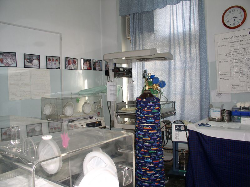 The nursery still looks great, has new equipment, stays toasty warm, and, thanks to the military, has been re-wired.