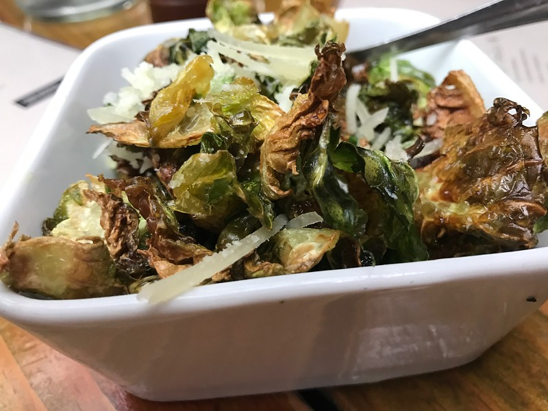 Salty Sow CRISPY BRUSSELS SPROUT LEAVES