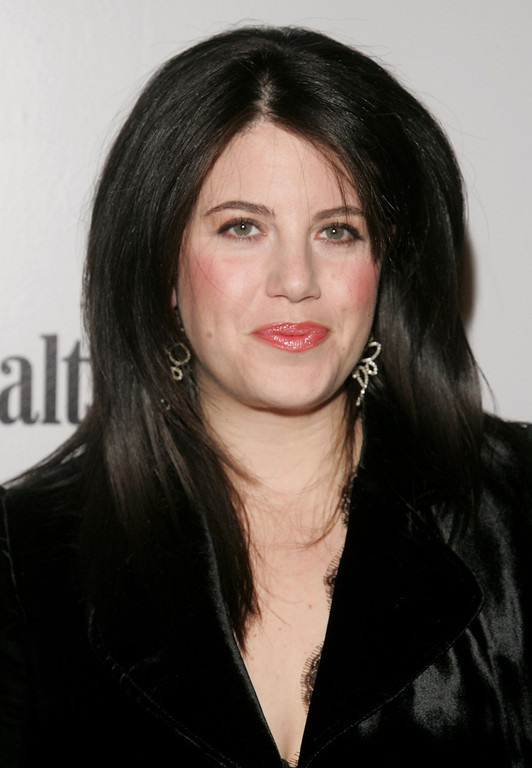 . Monica Lewinsky attends the Men\'s Health & Best Life exhibition for photographer Nigel Parry to celebrate the release of his new book Blunt at Milk Studios December 5, 2006 in New York City.  (Photo by Peter Kramer/Getty Images)