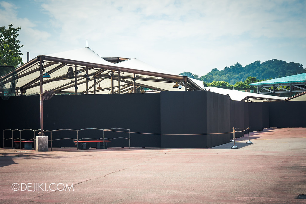 Universal Studios Singapore Park Update July 2017 - Halloween Horror Nights 7 Construction Updates - House at Waterworld
