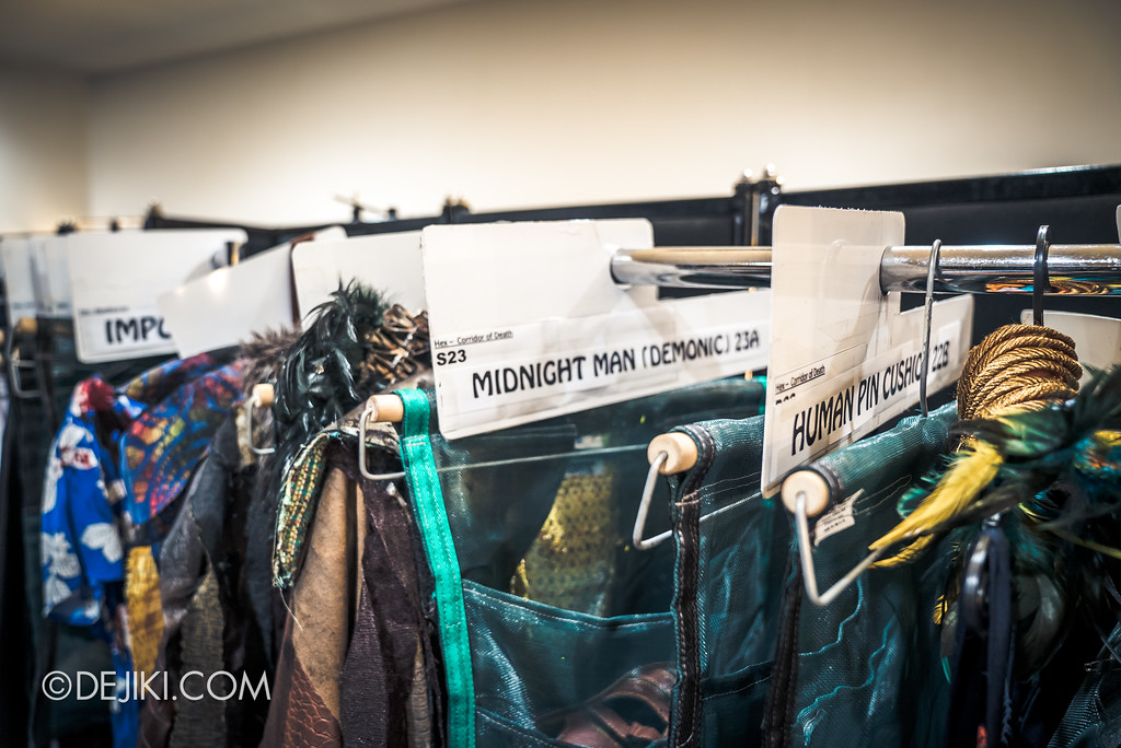 Halloween Horror Nights 7 Behind the Scenes: The Making of the Midnight Man, Iconic Character for HEX haunted house - Wardrobe for characters