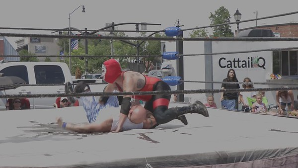 Gouge Wrestling---Seymour Snott gets disqualified