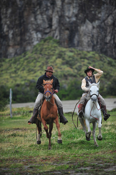 Galloping in Patagonia