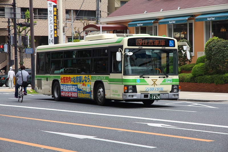 Hino bus, Osaka. Photo Credit: Tupungato/Shutterstock.com