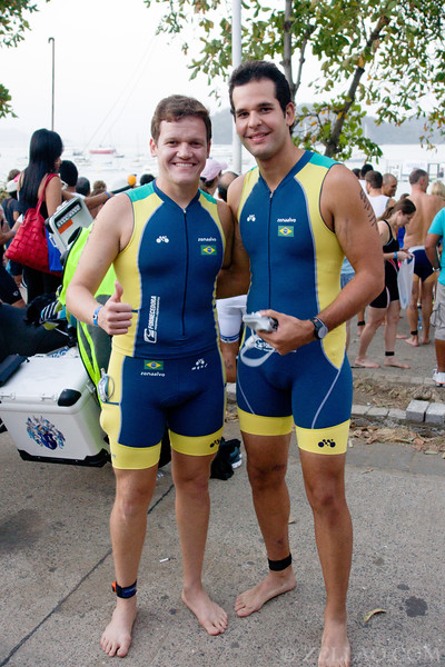 Joao Fiuza & Marcelo Rangel from Brazil at Ironman 70.3, Panama 2013