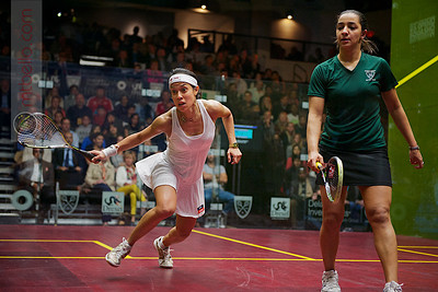 2012 U.S. Open Women's Final: Nicol David (Malaysia) defeated Raneem El Weleily (Egypt)
