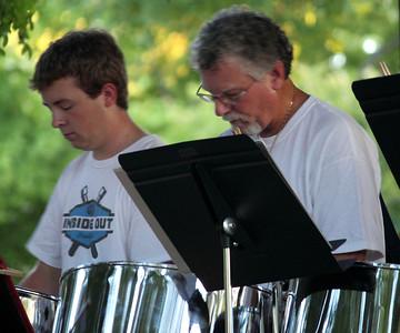 Inside Out Steel Band Pfluger Park