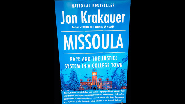JON KRAKAUER BOOK SIGNING VIDEO