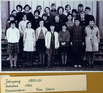 Jahrgangsfotos Jahrgang 1951 - 1960