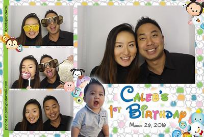 Caleb's 1st Birthday (Luxury Photo Booth)