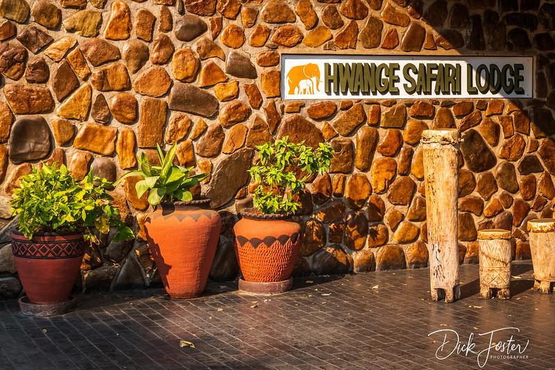 Hwange Safari Lodge Entrance