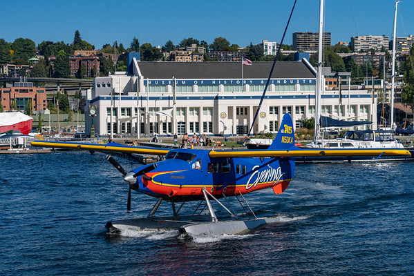Kenmore Air Flight Over Seattle