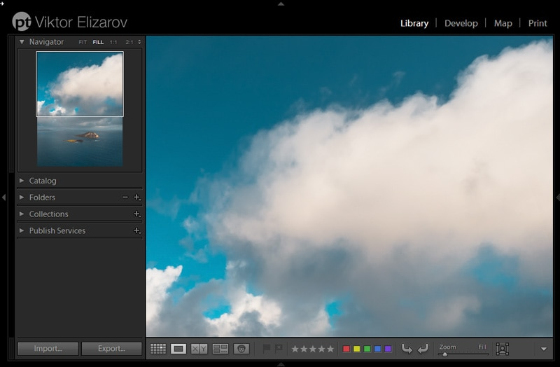Lightroom Zoom Level - FILL