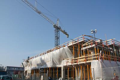 2009 Queen's Centre Construction Tour 20090307