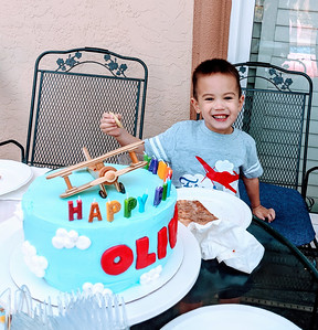 Oliver's 4th Birthday