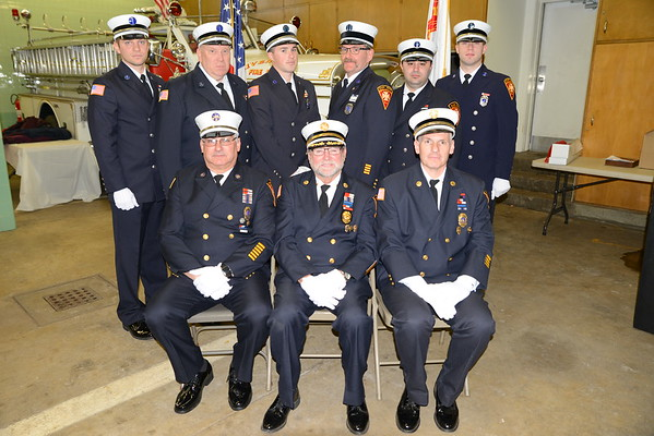 2018 River Edge, NJ Fire Department Officers