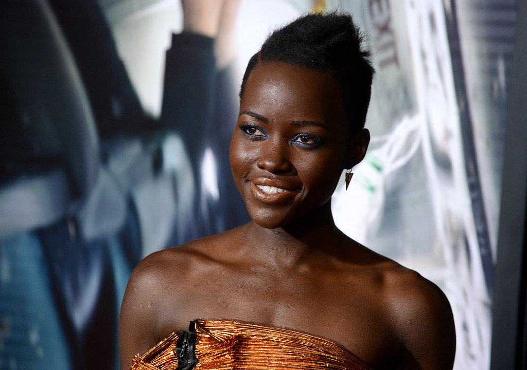 ". 2014 Academy Award Nominee for Best Actress in a Supporting Role: Lupita Nyong\'o in ""12 Years a Slave.\"" (Photo by Jordan Strauss/Invision/AP)"