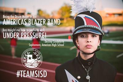 #TeamSISD Portraits