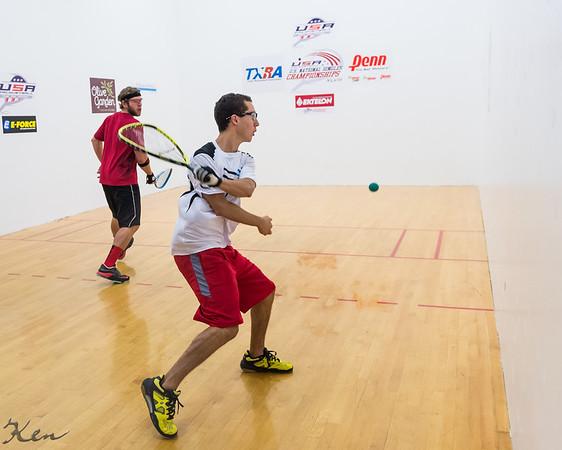 Men's Singles US team Qualifying Semis Jake Bredenbeck over Adam Manilla