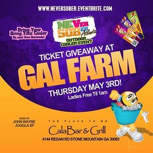 GAL FARM THURSDAYS MAY 3rd EDITION