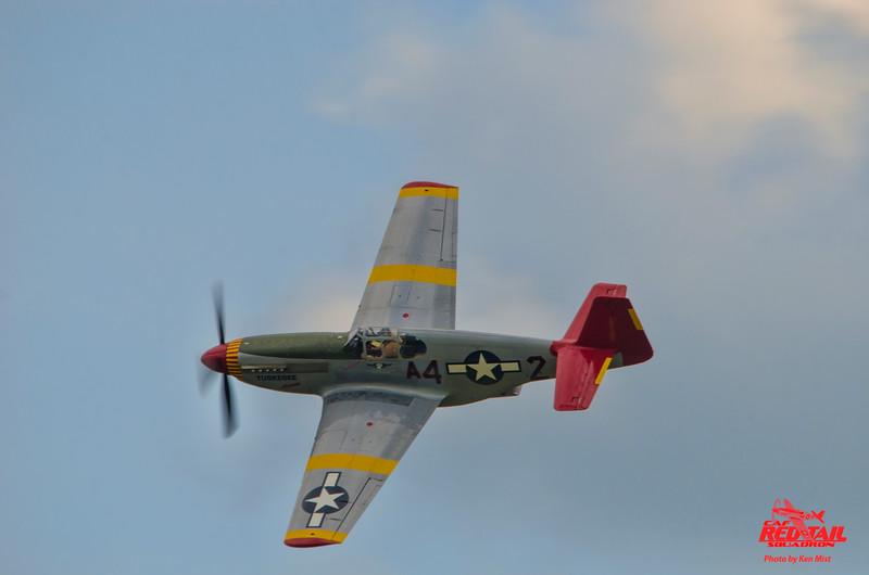 Paul Stojkov in Tuskegee Airmen at World War II Weekend put on by the Mid-Atlantic Air Museum in Reading Pennsylvania.