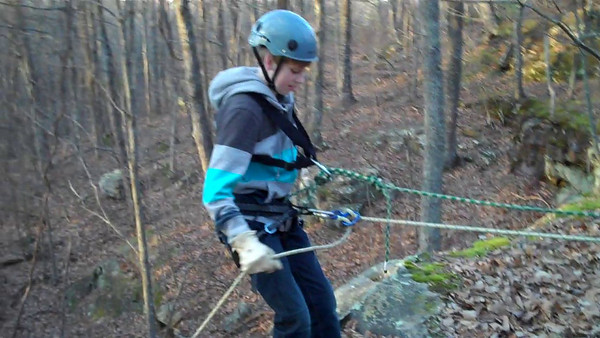 SAS Rappelling Videos Fall 2010