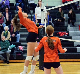 HS Sports - Volleyball District Semis at Edsel Ford