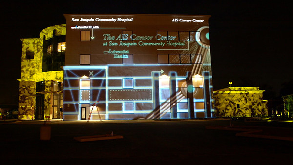 SJCH-3D Building Projection Mapping-Intelligent Lighting