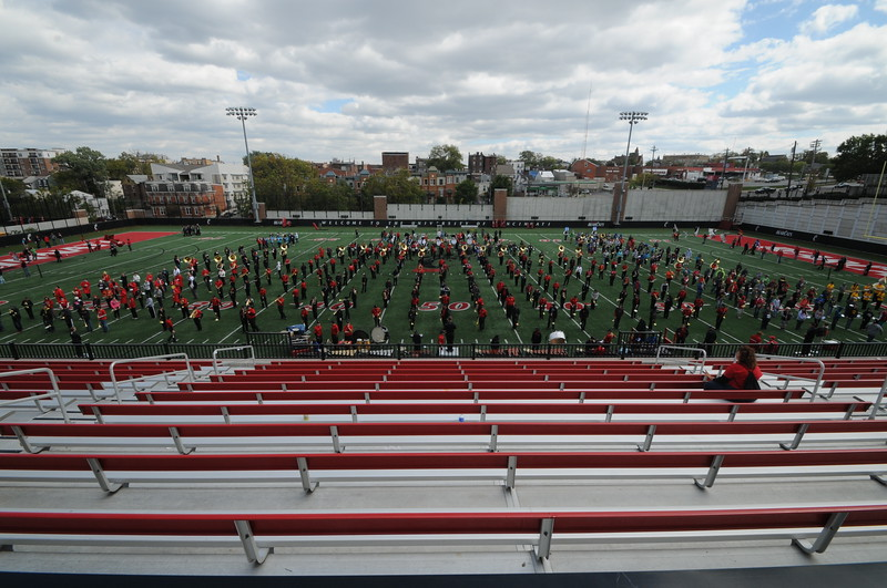 UC Band_UC vs Memphis_HS Band Day_PB Stadium_Cincinnati, OH