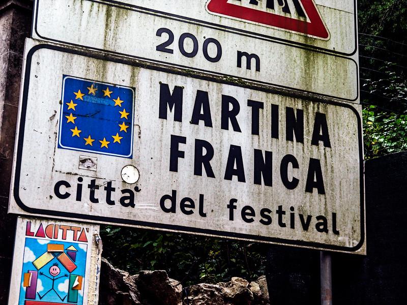Martina Franca...we are finally here!